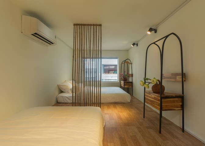 Rice Hostel & Cafe (Bamboo Room)in district 1 HCMC