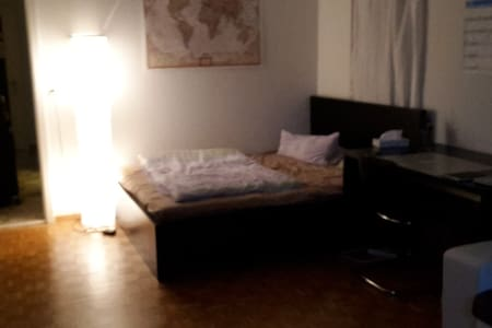 quiet huge room (25m²) in flatsharing apartment - Zurich - Condominium