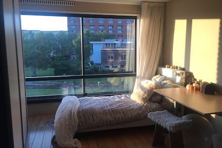 Big room with beautiful view near Central Station - Lakás