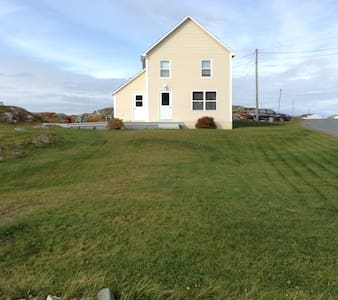 Beautiful oceanfront vacation home in Twillingate