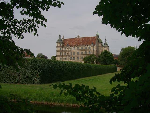 Kaminzimmer für Bücherwürmer - Güstrow - Huis