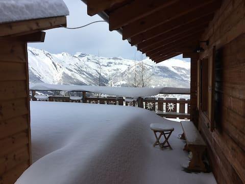 Chalet de vacances à proximité des pistes de ski