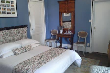 le logis de ruelle,chambre bleue - Ruelle-sur-Touvre