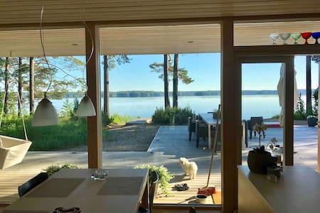 Modern Scandi design Villa by a beautiful lake
