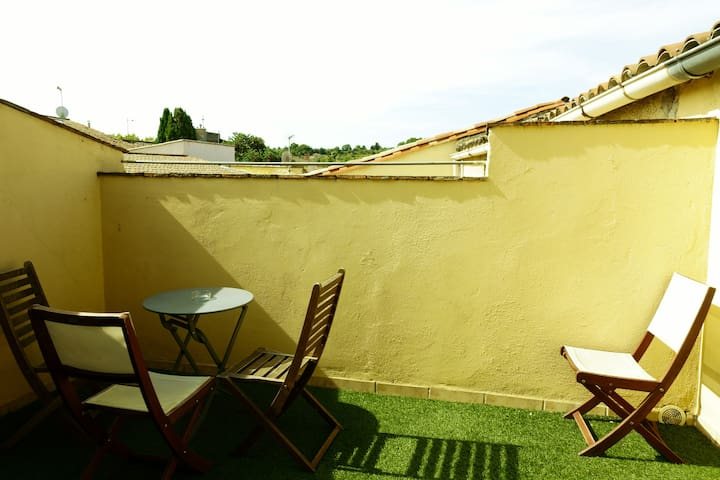 AGREABLE T3  A MONTAGNAC HERAULT environ 80 m2