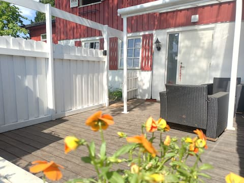 Rural apartment with private entrance in Sandefjord