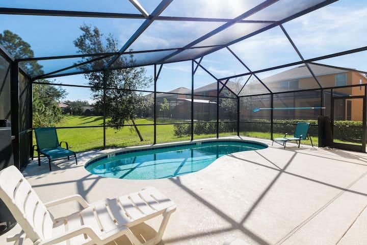 4B New Home/Pool/Wifi/10Min Disney