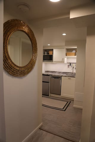 Modern and updated Sugarhouse Bsmt Apartment.