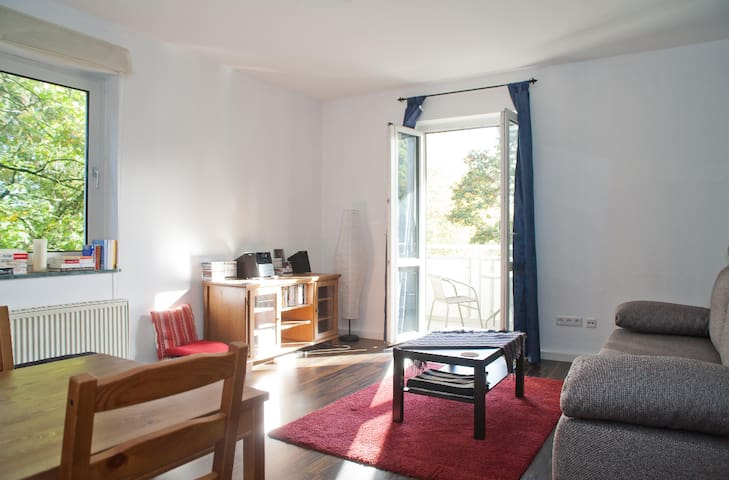 Cosy and spacious room 15 min away from Altstadt.