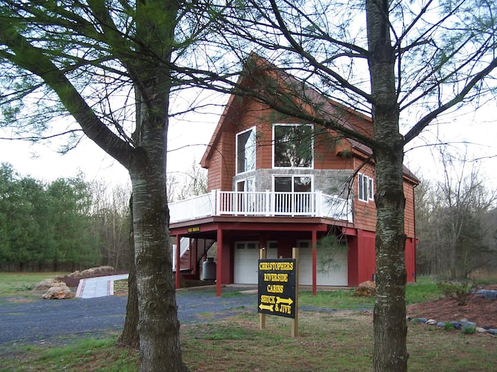 """Christopher's Riverside Cabins  """"The Shuck""""..."""