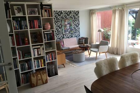 Private room in charming home(beach, Copenhagen)