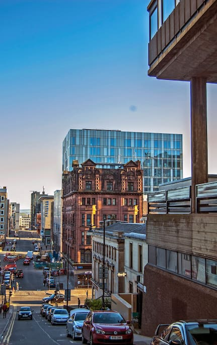 Our building as seen from The Glasgow School of Art