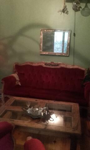 Chambre de charme dans maison avec jardin . - Lisieux - Appartement