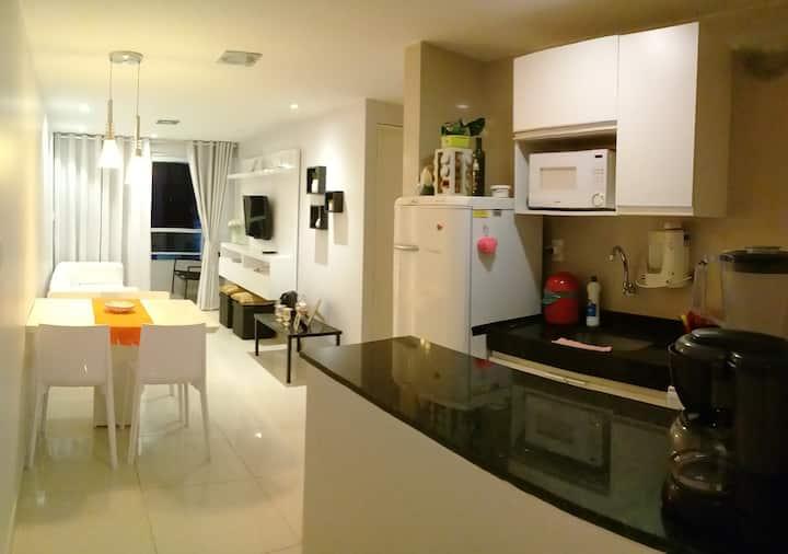 Apartamento Inteiro c/ piscina em Manaíra-JP