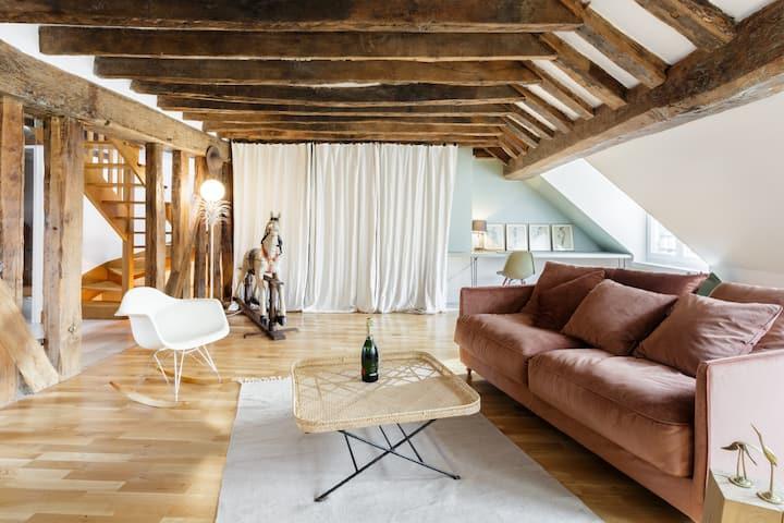 Cosy Loft in Le Marais