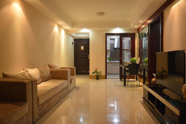 cxh Home sweet Home/Zhujiang New Town,CBD centre - Canton - Appartement
