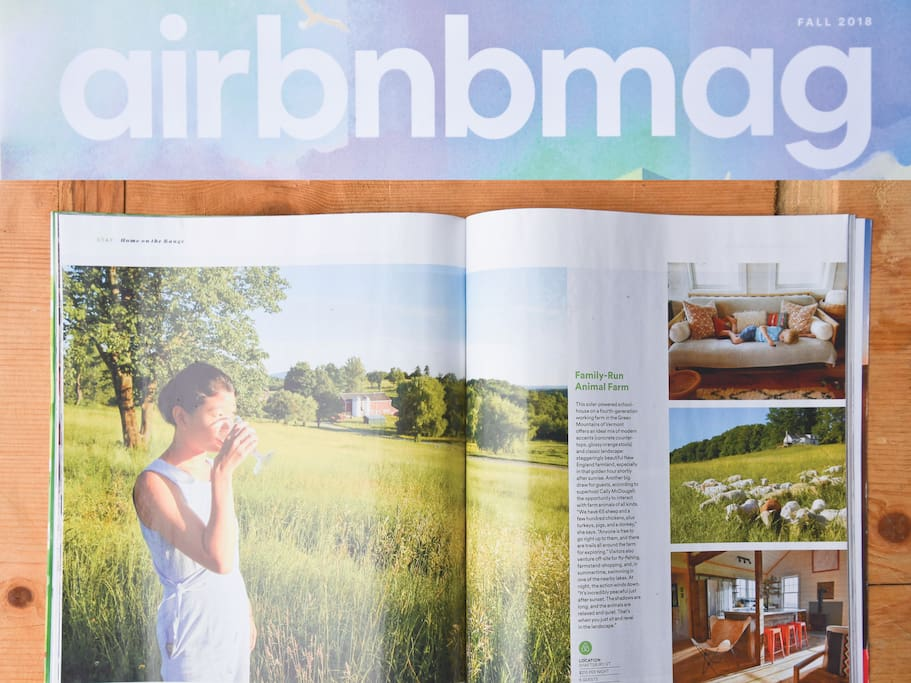 Featured in Airbnb Magazine