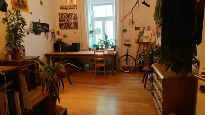 colourful room in shared flat/buntes Wg-Zimmer