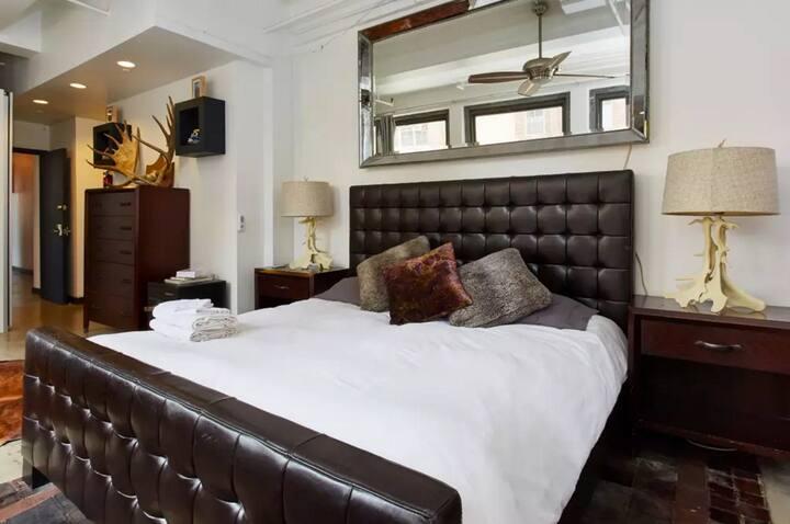 Master Bedroom w/Private Bath in Huge Chelsea Loft