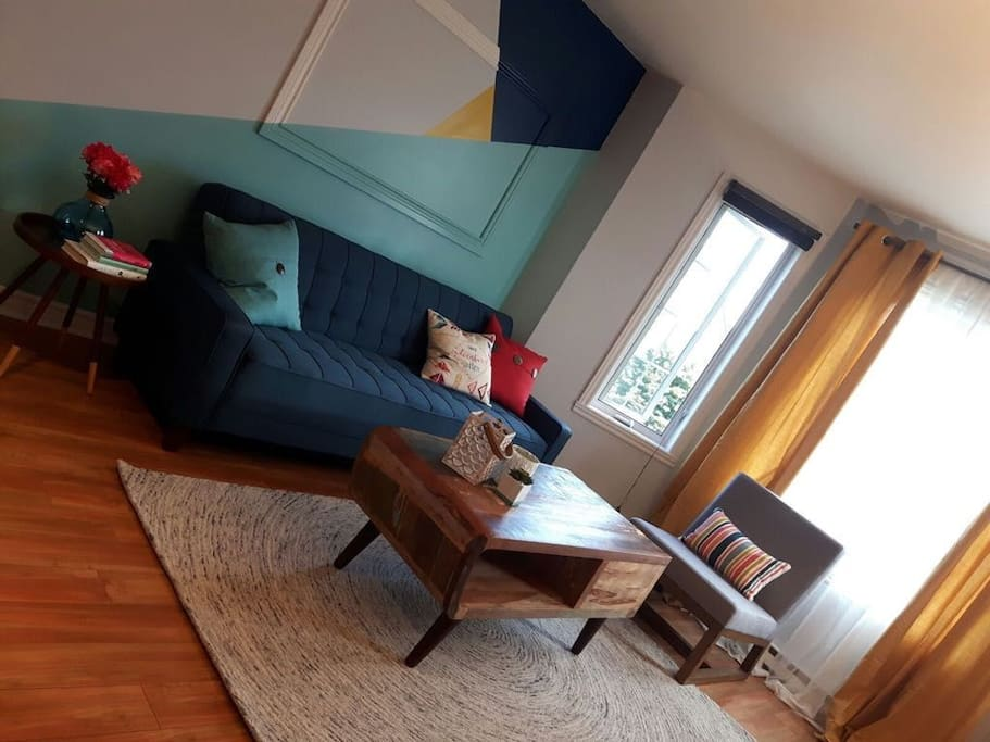 Colourful wonderful living Room