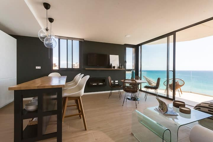 Modern stunning view sea front SEA WATER APARTMENT