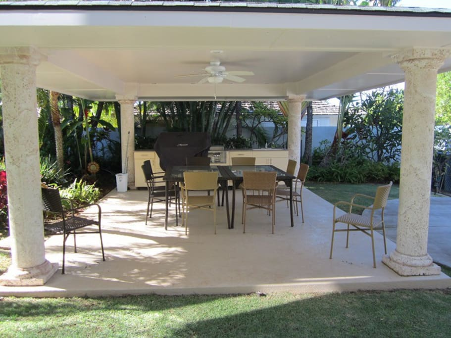 BBQ Pavilion for outdoor dining
