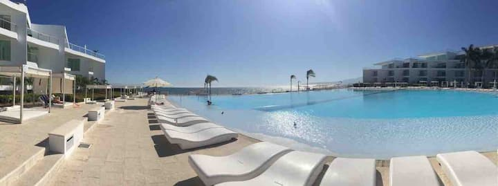 Sosiego@Aria Ocean /Beachfront Condo NuevoVallarta