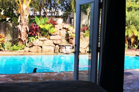 Beach House Waterfall & Private Pool.  Discounts! - Redington Beach - Haus