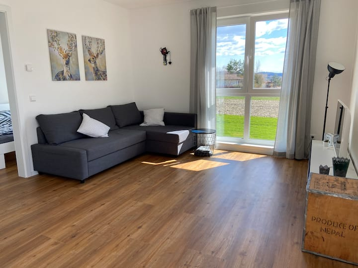 Neubau-Wohnung nahe Bodensee