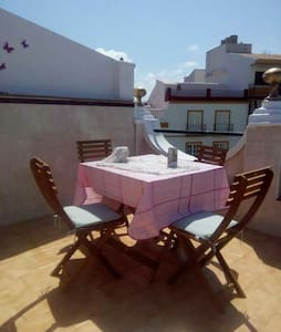Great view from the roof terrace - Vélez-Málaga - Hus