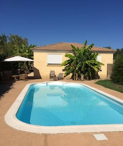 villa&piscine chauffée, privée à 250m de la plage - Poggio-Mezzana