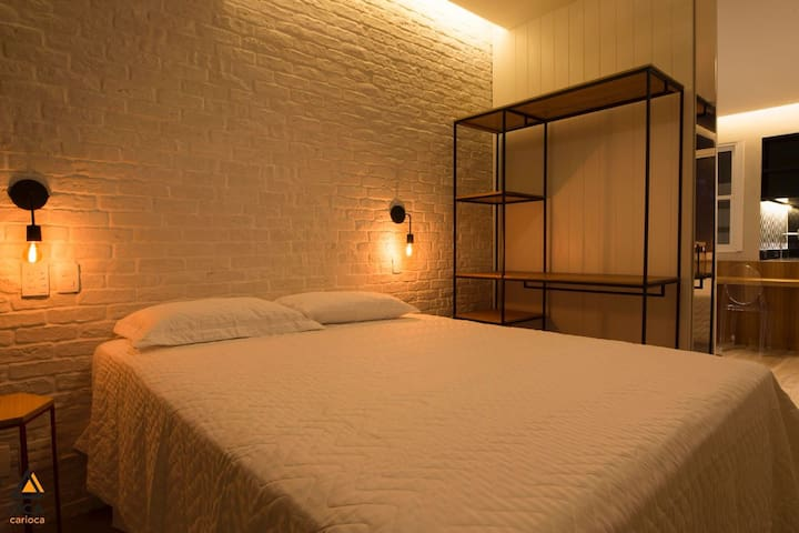 Quarto e sala melhor ponto de Ipanema!