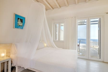 Studio 3 - Sea View and Pool - Mykonos