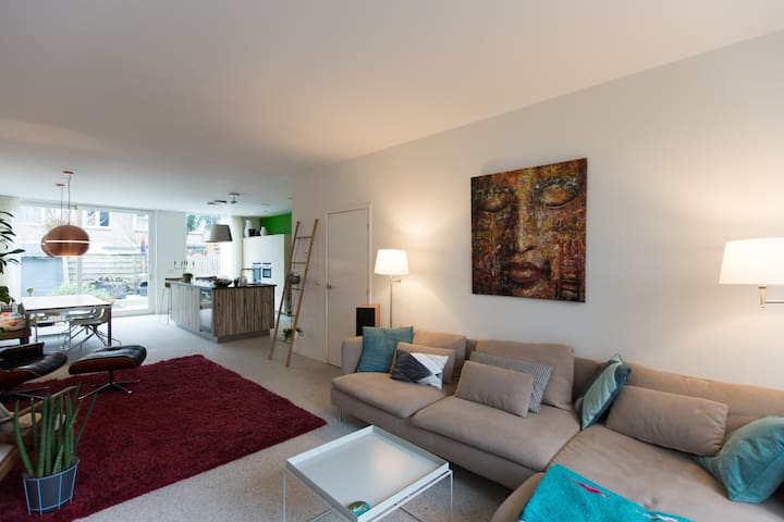 Lovely Beauty with Garden (190m2) - Amsterdam - Maison