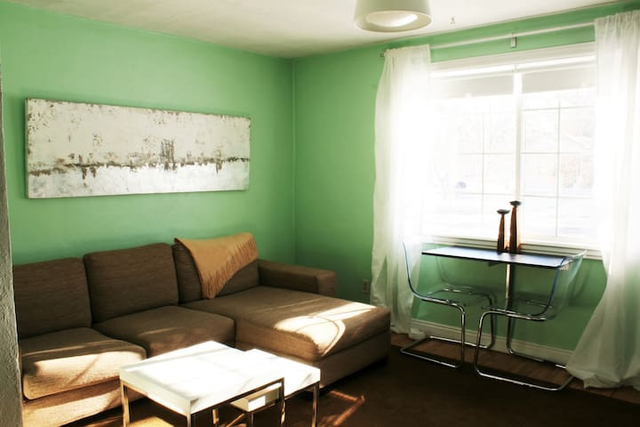 Sunny Studio Space - 2 Blocks to Pearl Street!