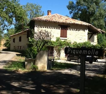 Grand Moulin Quercynois piscine - Caussade - House