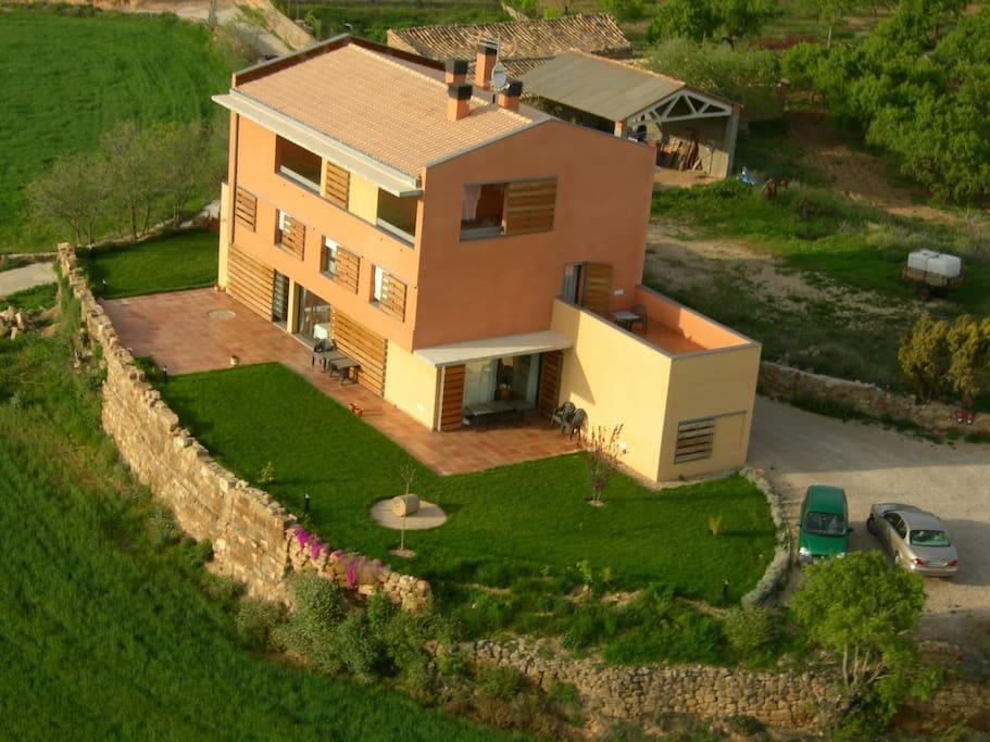 Casa con espectaculares vistas casas cueva en alquiler en bierge arag n espa a - Casas espectaculares en espana ...