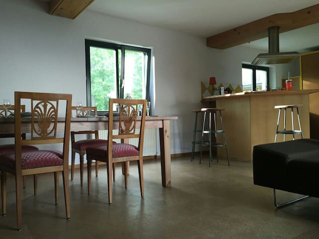 Petite maison à 10 minutes de Bâle - Wentzwiller - Talo