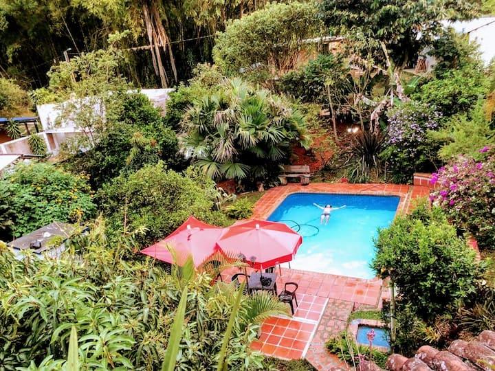 Agradable casa de Campo Villa Maruja.