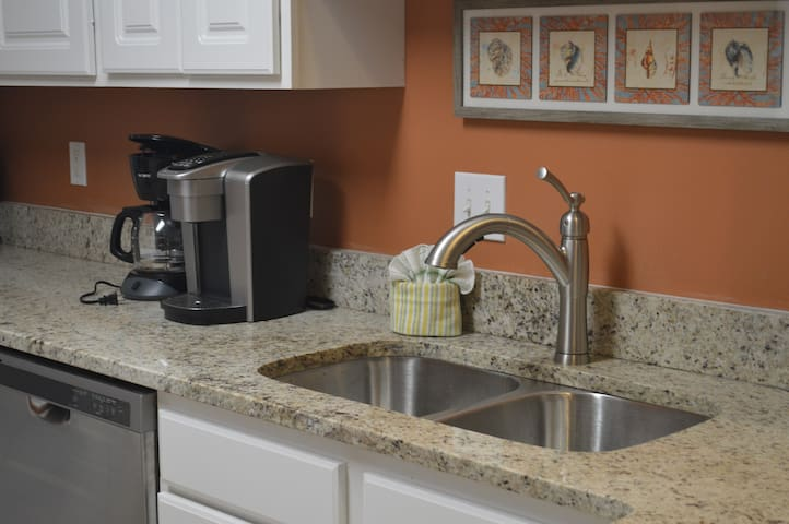 Coffee pot or Keurig - bring your favorites for your morning brew.