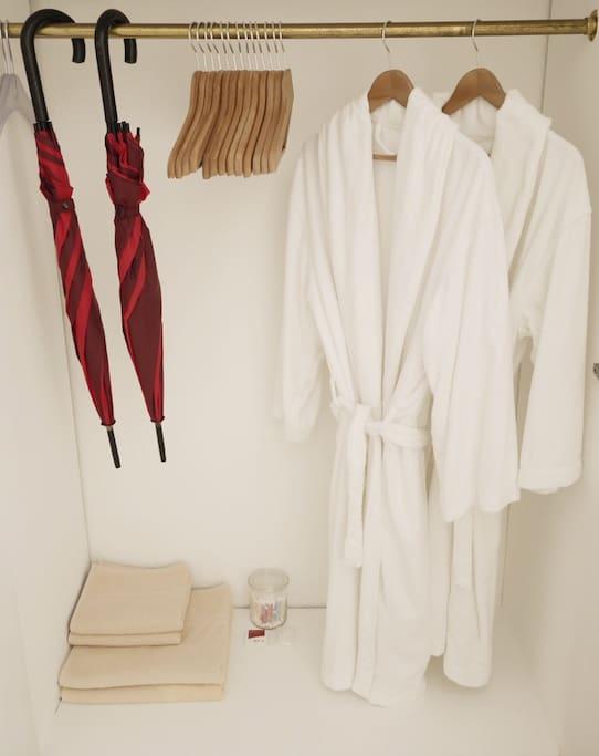 Guest Wardrobe