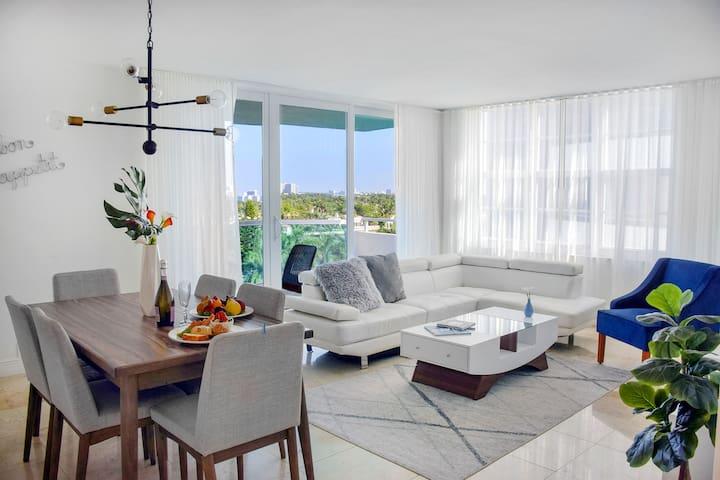 Miami Beach 8 Guests 3 Bedroom Suite(21)