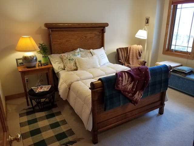 Cozy Northwoods Suite near TwinCities - Eden Prairie - Dům