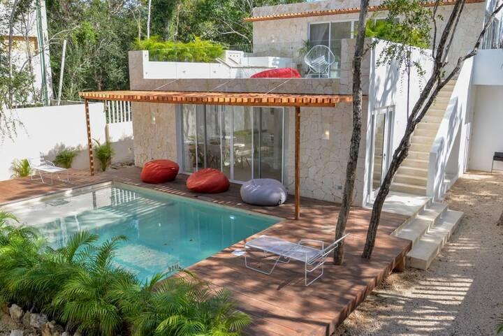 The white Villa!! Relajación y privacidad.