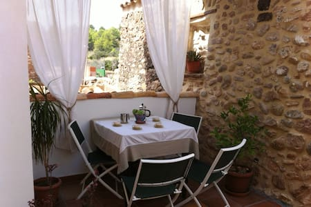 Charming apartment with terrace with wifi & bikes! - Algar de Palancia - Apartemen