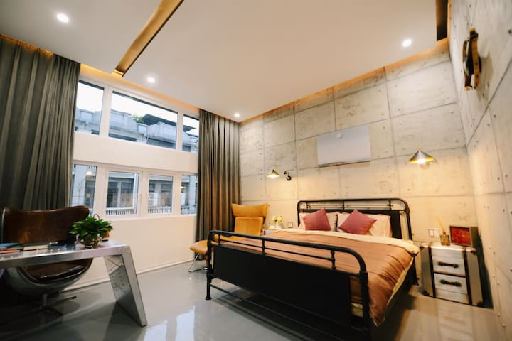 Nomads Industrial Styled Apartment【Liurong Temple】 - 广州 - Apartmen