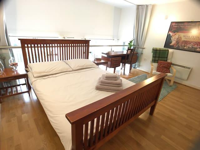 Spacious double room, en-suite, and breakfast - Londra - Appartamento