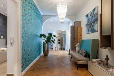 Spacious room in designer flat+TV+own bathroom