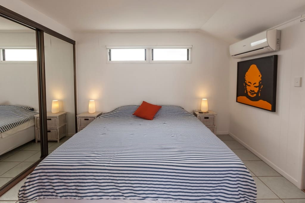 King Size bed - air conditioned room