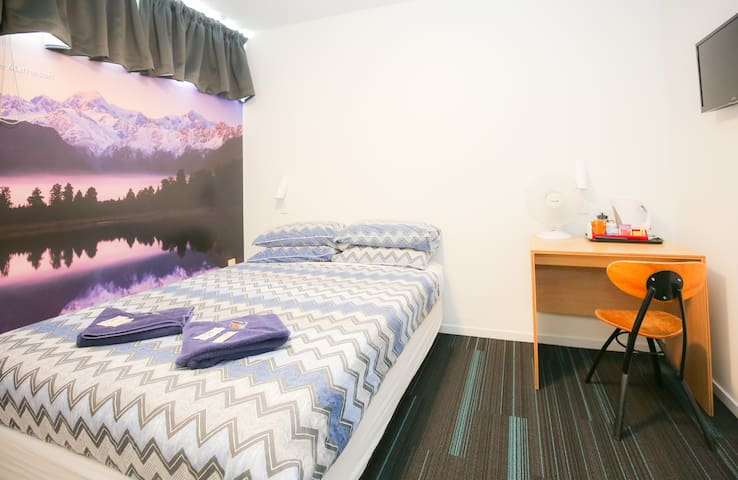 Double Private - YHA Auckland International